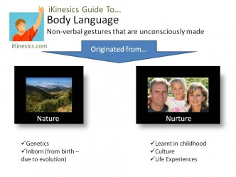 Where Do Our Non-verbal Gestures Come From?